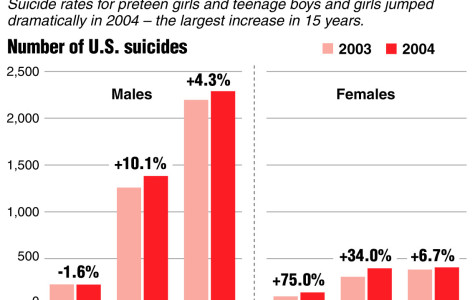 Young Adult Suicides Increase Drastically
