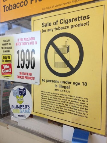 Student Checks Tobacco Compliance