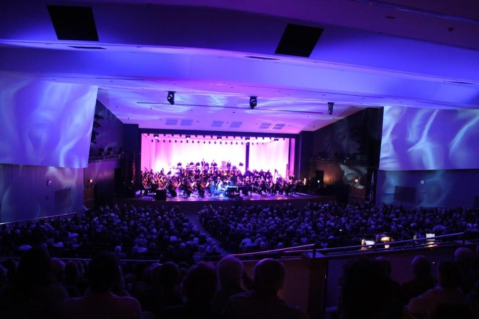 The Cape Cod Symphony Orchestra performs one of its many concerts in the PAC.