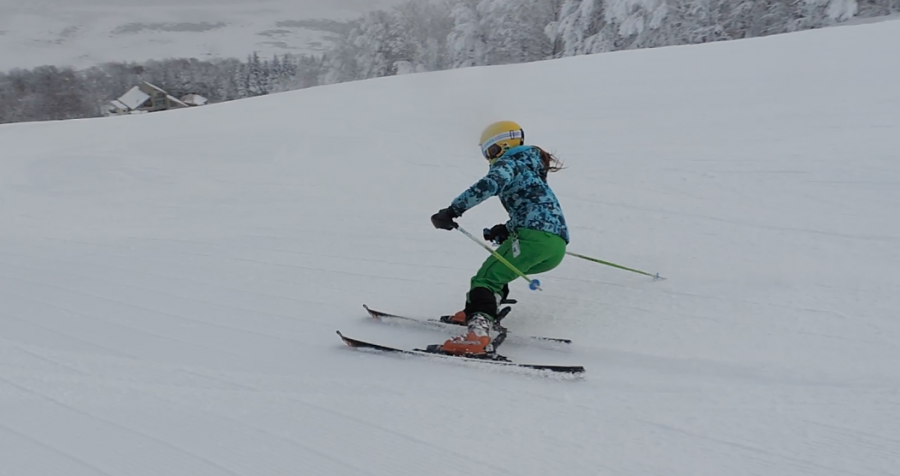 Kylie Willis will attend Franconia's ski club ski academy this year to pursue her passion.
