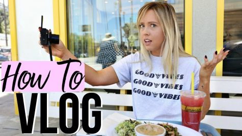 Vlogger Ashley Nicole vlogs how to vlog.