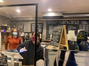 Nirvana Cafe in business during pandemic