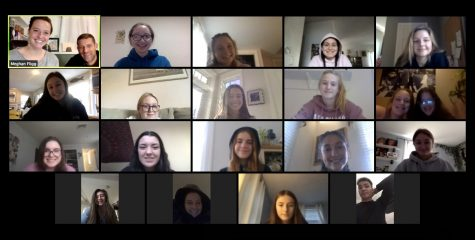 Many school clubs have resorted to virtual meetings in response to Covid restrictions.