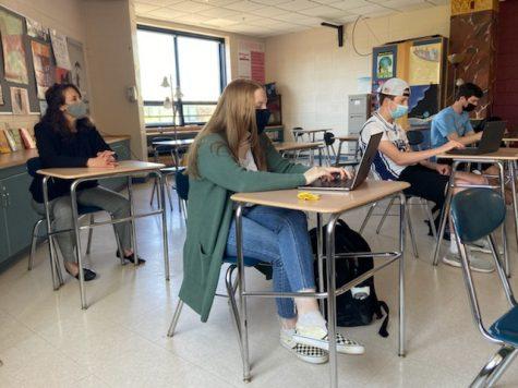 Freedman shadows a classroom of students.