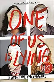 One of Us is Lying By Karen M. McManus is a Page Turner