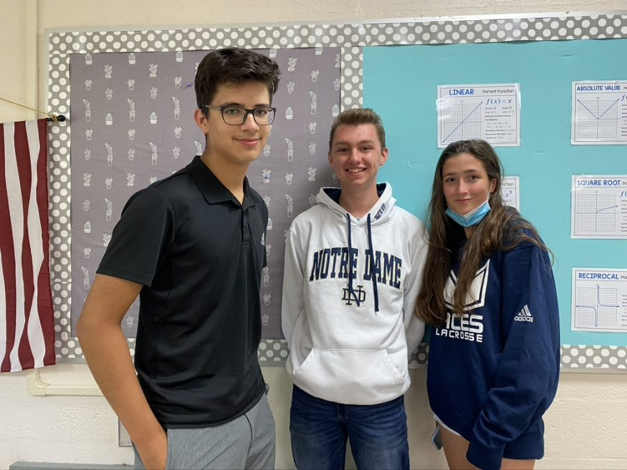 Ryan Christensen, Cece Brisbois and Alex Arabadzhiev. The new officers for class of 2023