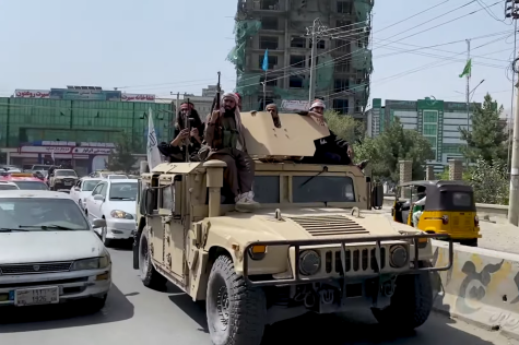 Taliban soldiers patrol the streets of Kabul once again as a result of the botched US withdrawal.